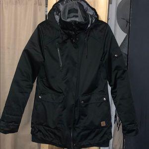 Capped Ski/snowboard Jacket EUC
